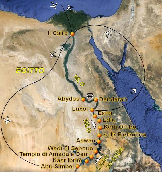Cartina Turistica Egitto.Viaggio In Egitto Con Crociera Sul Nilo E Crociera Sul Lago Nasser