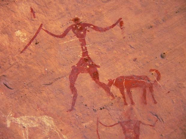 I graffiti e le pitture rupestri nell acacus fezzan for Immagini di murales e graffiti