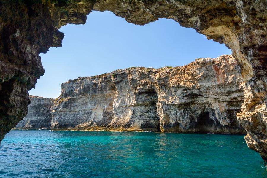 Escursione in barca a comino da gozo foto di comino e - Finestra sul mare malta ...