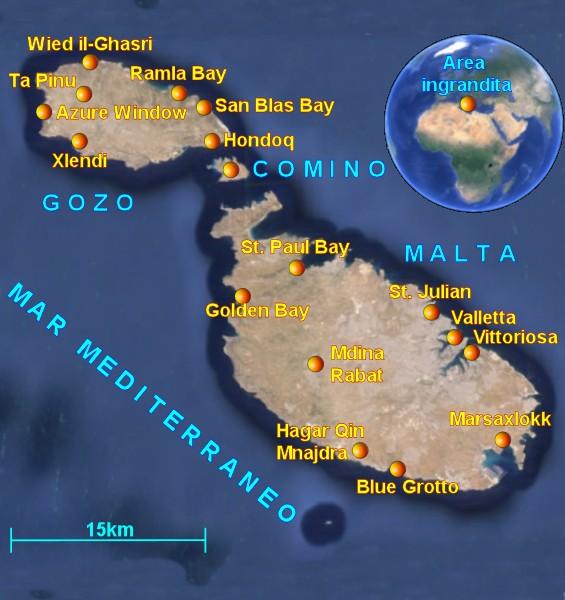 Cartina Di Malta E Gozo.Diario Di Viaggio A Malta Informazioni Su Malta E Come Organizzare Una Vacanza