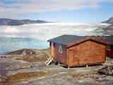 Eqi Ice Camp vicino Ilulissat, Groenlandia