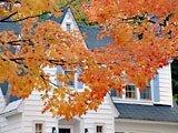 Autunno nel Vermont, USA
