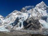 Monte Nuptse, Everest, Lhotse dal Kala Pattar, Nepal