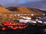 Kayak isola Ellesmere, Nunavut, Canada