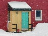 Nevicata in Groenlandia