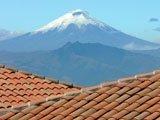Vulcano Cotopaxi da Quito, Ecuador