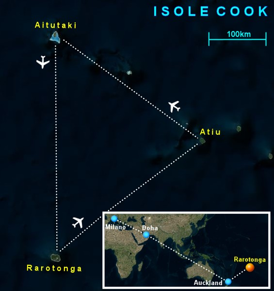 Isole Cook Informazioni Generali Cosa Vedere Dove Andare