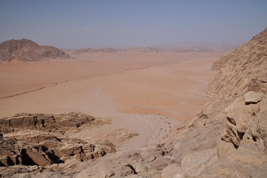 tour nel deserto del wadi rum in giordania foto deserto
