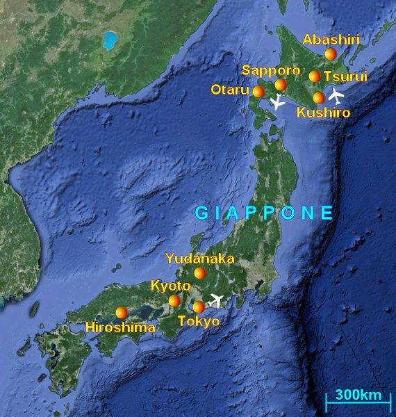 Cartina Italia Giappone.Viaggio In Giappone Informazioni Guida E Foto