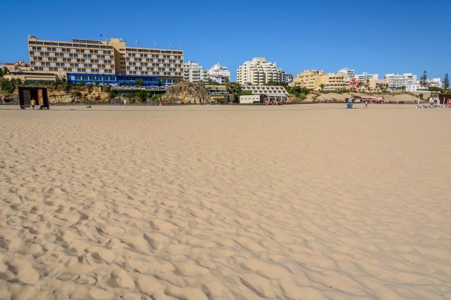 Le spiagge lungo la costa dell´Algarve in Portogallo
