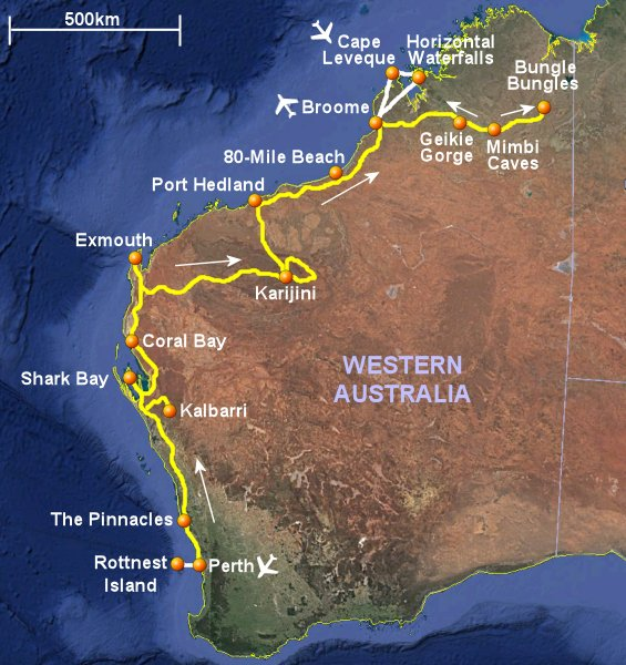 Risultati immagini per isola rottnest australia cartina