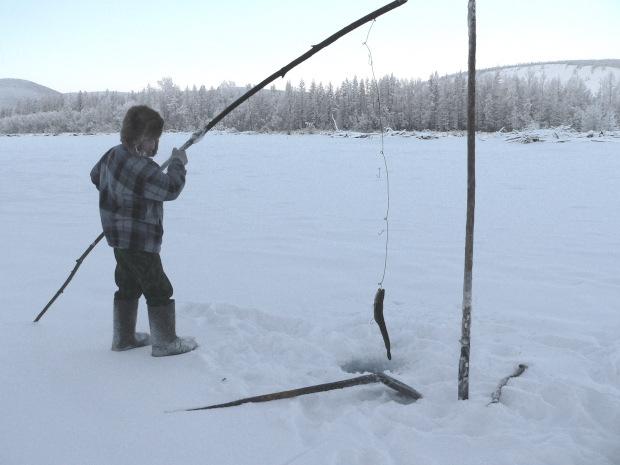 La caccia di negozio per pescare in Nizhnevartovsk